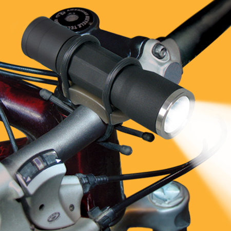 New Nite Ize X3A LED bicycle head light high low and pulse mode
